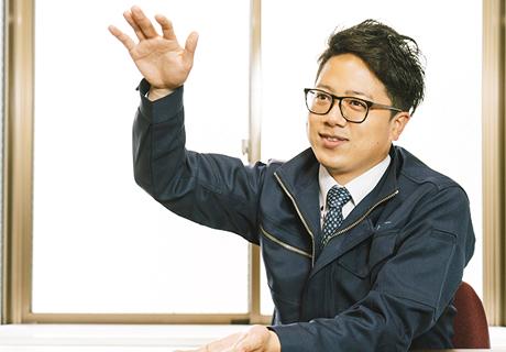 三上力也 インタビュー写真2