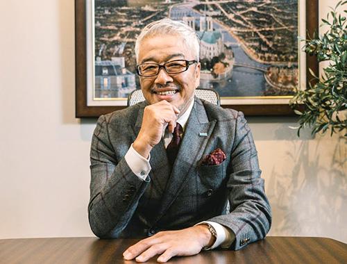 代表取締役白井達雄の顔写真